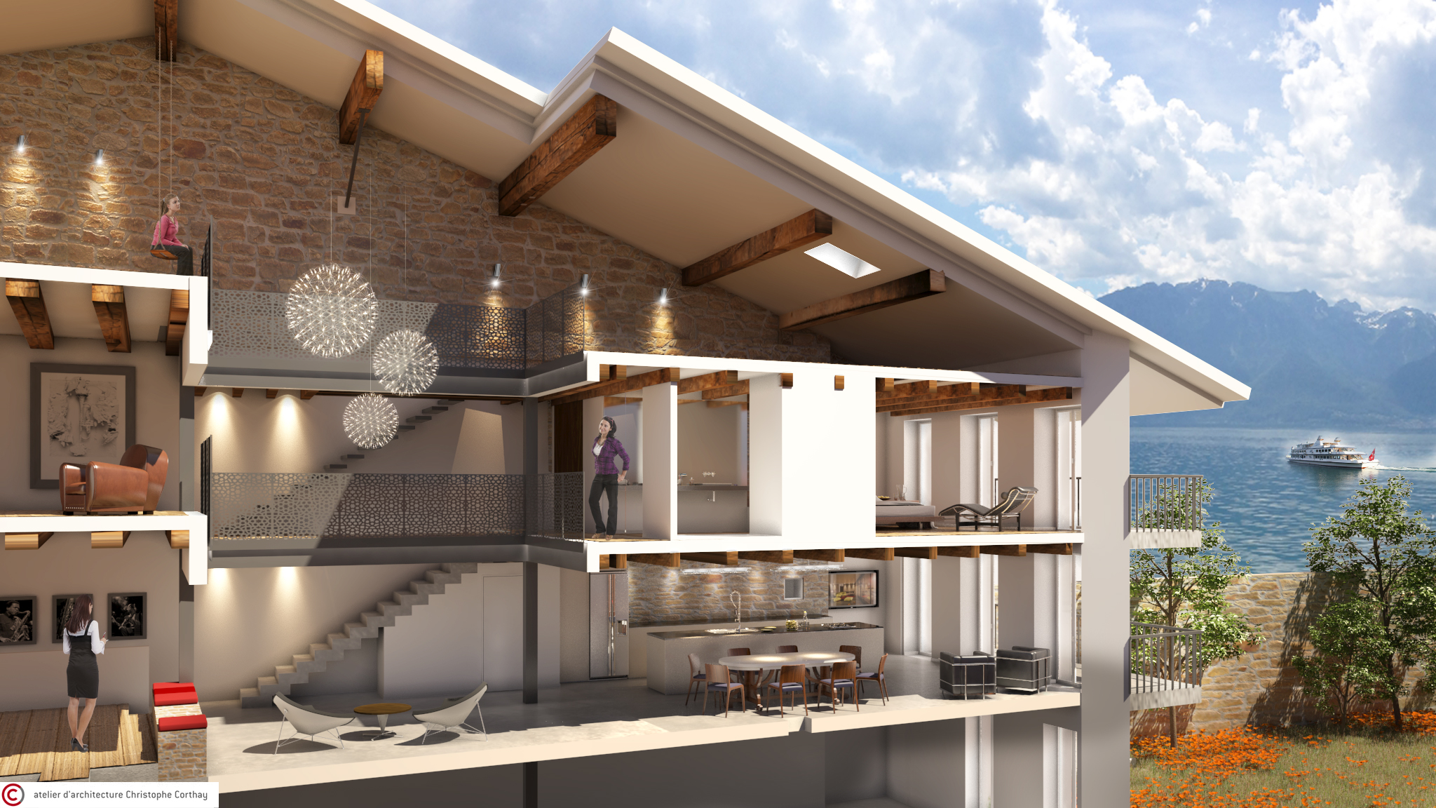 Rénovation habitation Lutry (VD)
