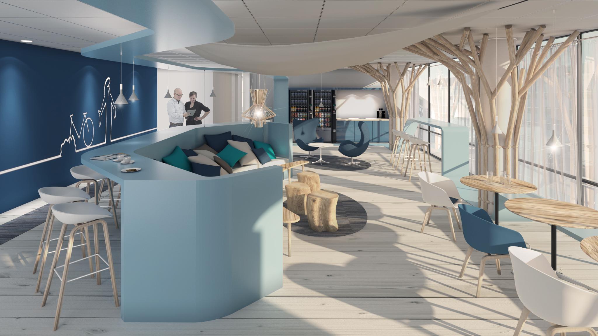 AXA - concept cafeteria 2