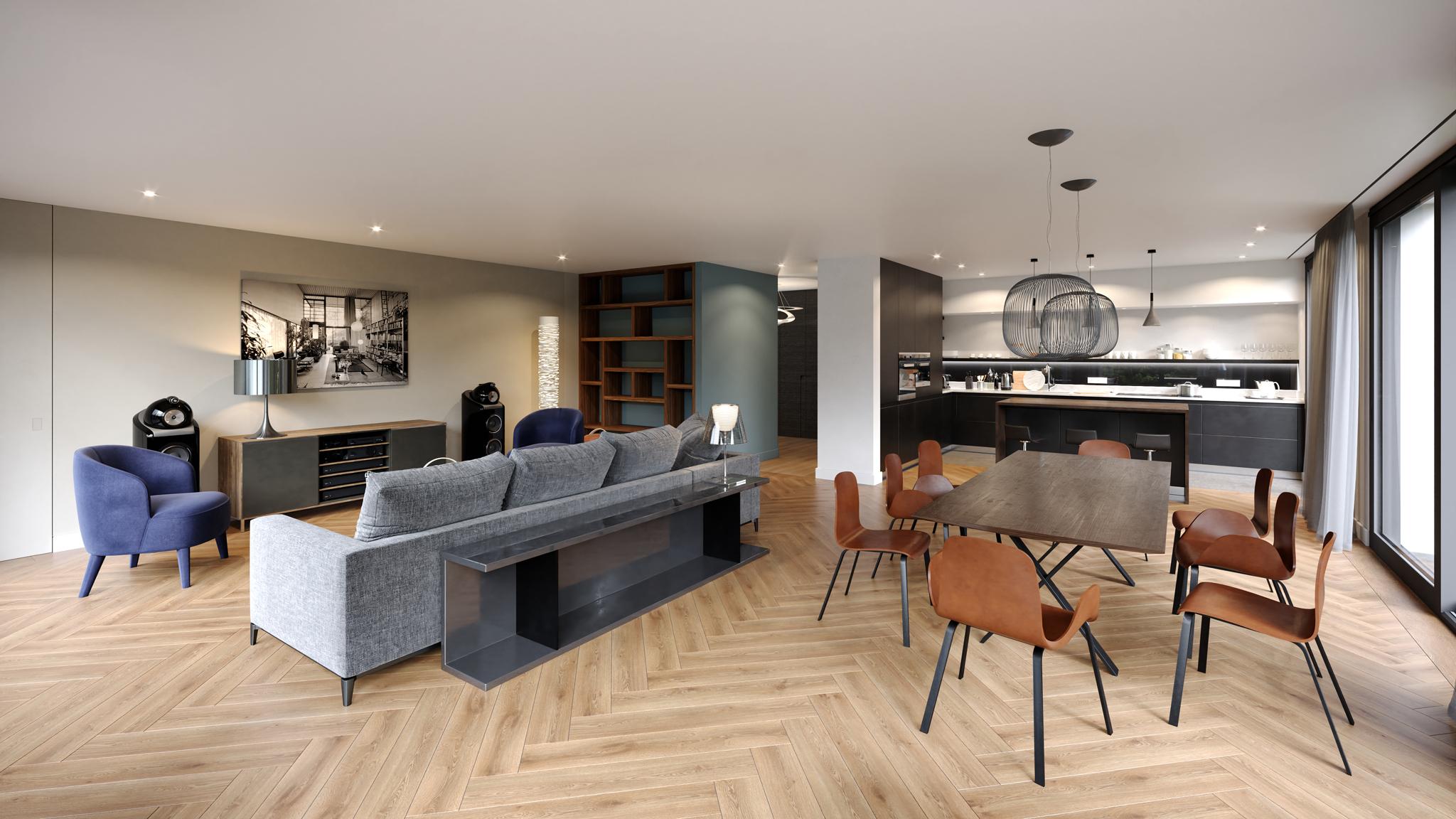Appartement Genève - vue 2