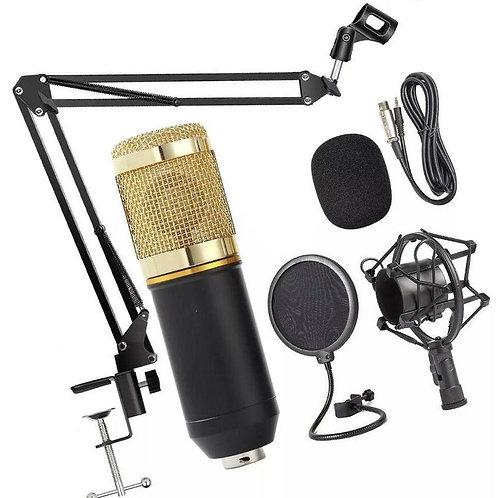 Microfone Condensador BM900 Com Kit Acessórios