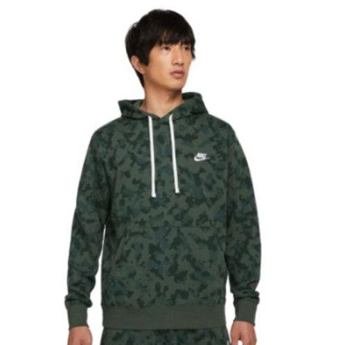 Moletom Com Capuz Nike Sportswear French Terry Masculino Verde