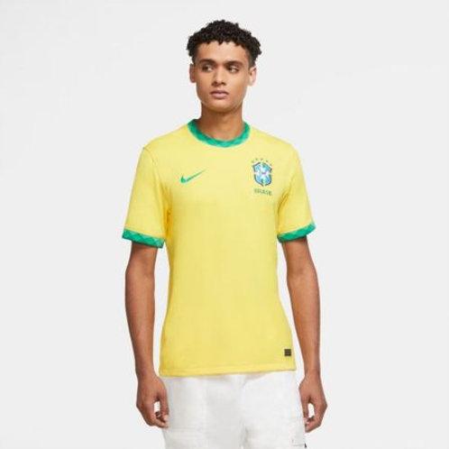 Camisa Brasil I 2020/21 CBF Torcedor Pro Nike Masculina Amarelo