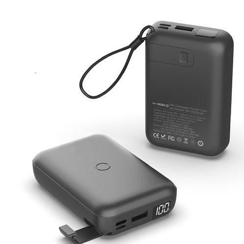 Carregador Portátil Yeeko 10.000ma Wireless