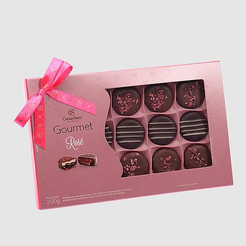 Caixa Gourmet  Rose 200g