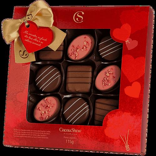 Caixa Amo Mais Que Chocolate 115g