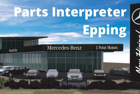 Parts Interpreter   Mercedes-Benz   Epping VIC