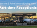 Receptionist Part-time - Automotive Dealership