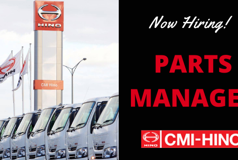 Automotive Parts Manager - Truck Dealer