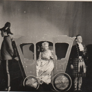 Rita Laurie as Cinderella and Russell Hu