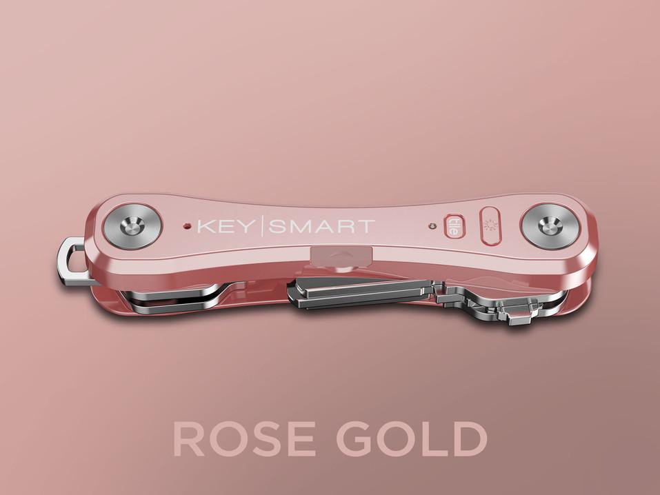 KeySmart Pro_Rose Gold