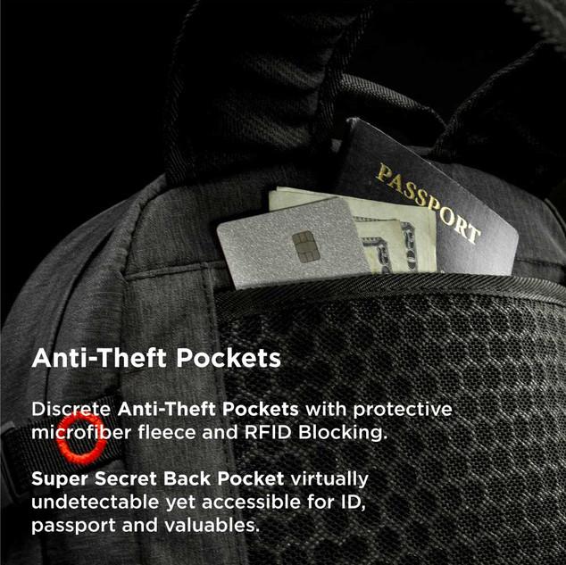 Anti-Theft Pockets