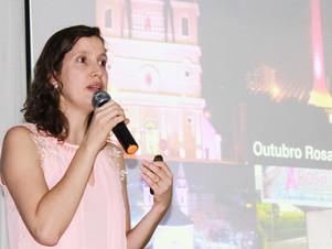 Palestra sobre o câncer de mama integra ações do Outubro Rosa na Faculdade Santo Agostinho