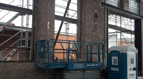 Schadstoffsanierung Altes Kesselhaus Kaiserslautern | San-Tech GmbH