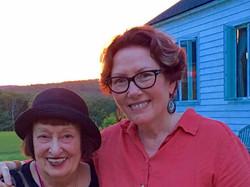 My great teacher and friend, Sheila Jordan, at VJC this summer