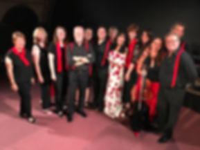 Dunja Rajter mit der Otti Bauer Band und
