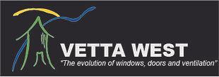 Logo Vetta West - White Type- Background
