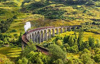 Glenfinnan Railway Viaduct  shutterstock
