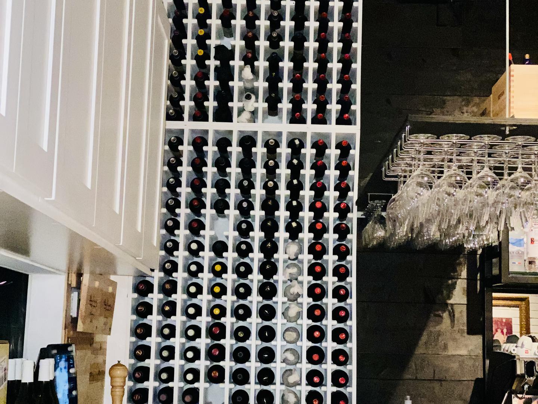 Wine Rack at Carmelas Restaurant (Hollywood) - After