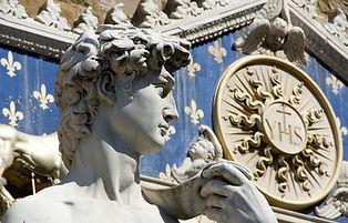 David sculpture in Florence shutterstock