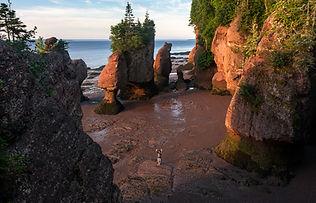 Hopewell Rocks, Bay of Fundy shutterstoc