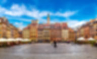 Old town square in Warsaw shutterstock_3