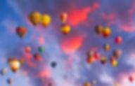 hot air balloons in flight shutterstock_