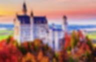 Neuschwanstein Castle Fall shutterstock_