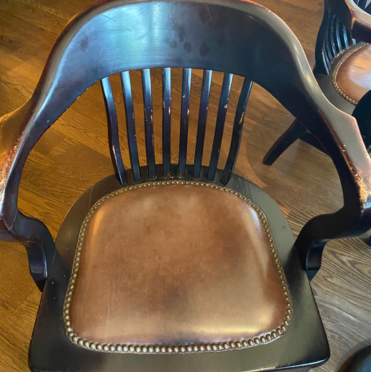 Chair at Abe & Louie's Steakhouse (Boca Raton) - Before