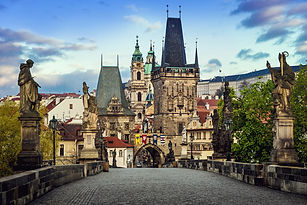 Charles Bridge in the morning shuttersto