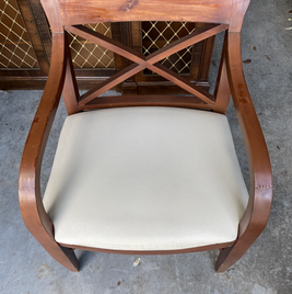 Hotel Dining Chair at Beach Resort in Sunny Isles - Before