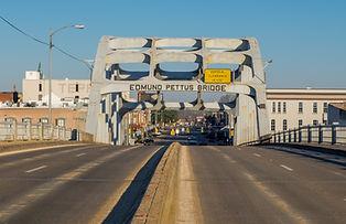 Edmund Pettus Bridge Selma AL shuttersto