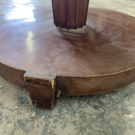Hotel Table Base at Beach Resort in Sunny Isles - Before