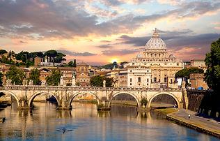Basilica di San Pietro with bridge in Va