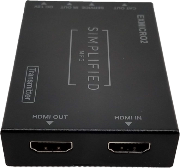 EXMICRO2 TX HDMI Side