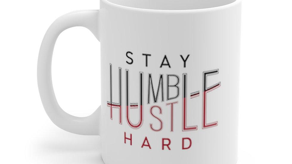 11oz Mug - Stay Humble Hustle Hard