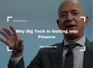 거인의 영어 #28 WSJ 리포터의 영어를 배워보세요(Why Big Tech is Getting into Finance)