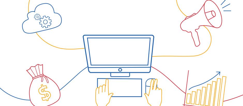 Posicionamento e apresentação de empresas no meio digital