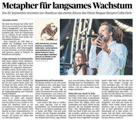 Oltner Tagblatt, 2016