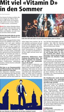 Neue Oltner Zeitung, 2020