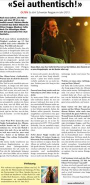 Neue Oltner Zeitung, 2013