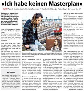 Neue Oltner Zeitung, 2011