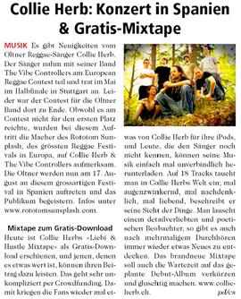 Neue Oltner Zeitung, 2012