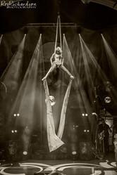 Aerial Silks - Circus of Horrors
