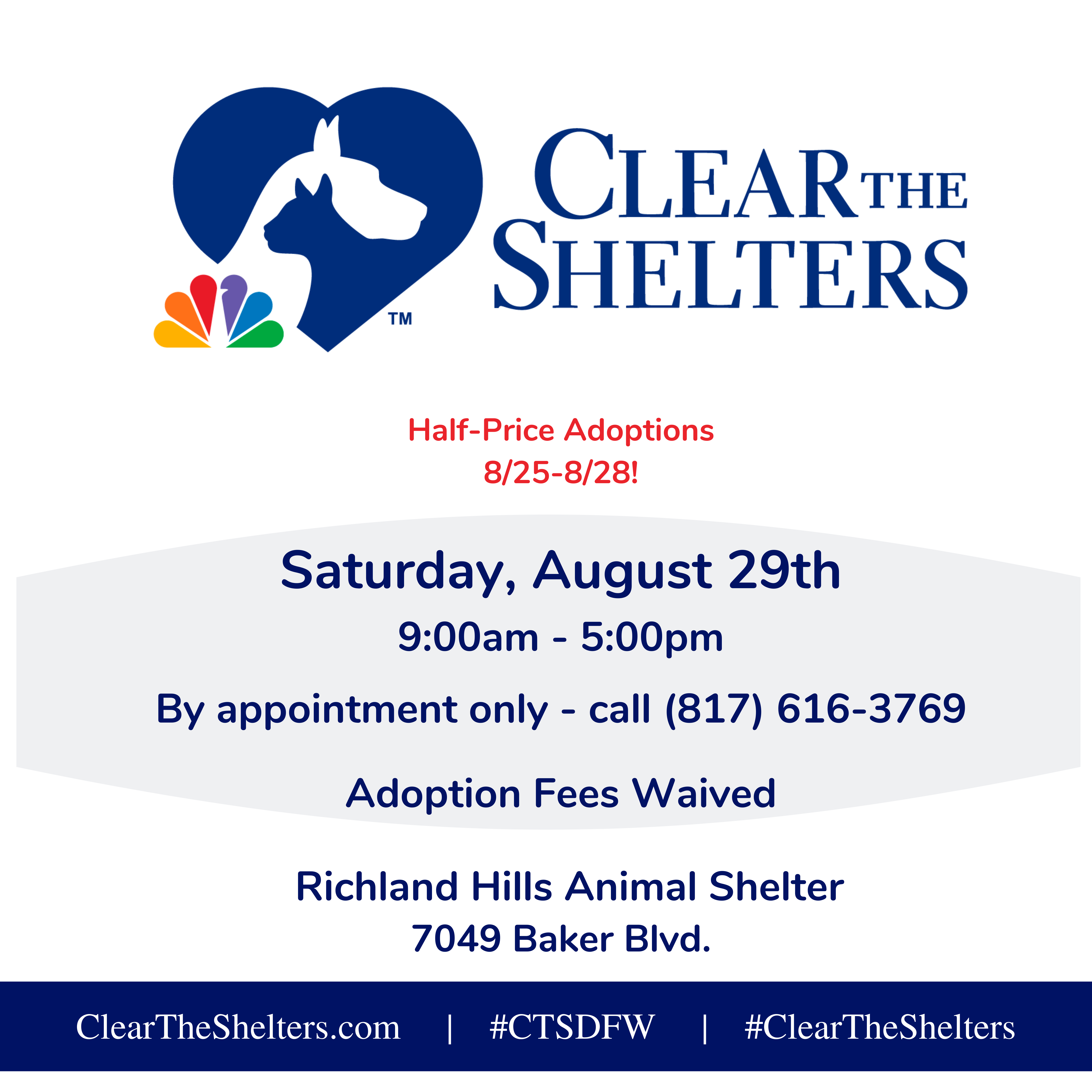 ClearTheShelters.com | #CTSDFW |-2
