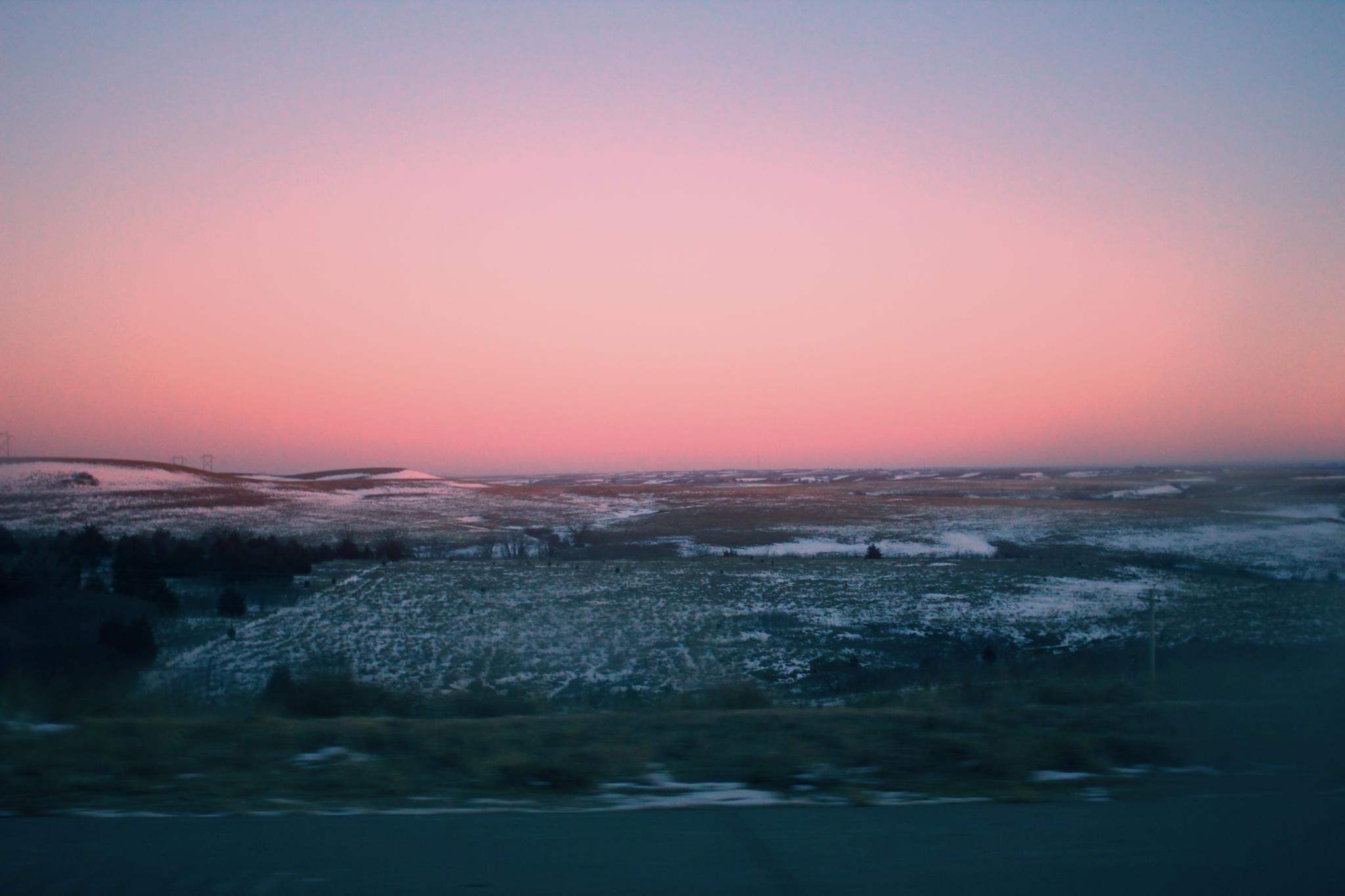 sunset+pink