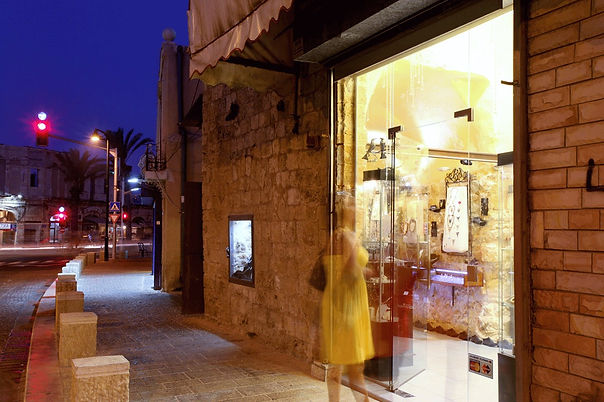 Abramson Gallery Store in Old Jaffa