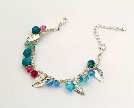 Silk Bracelets - Sea flower