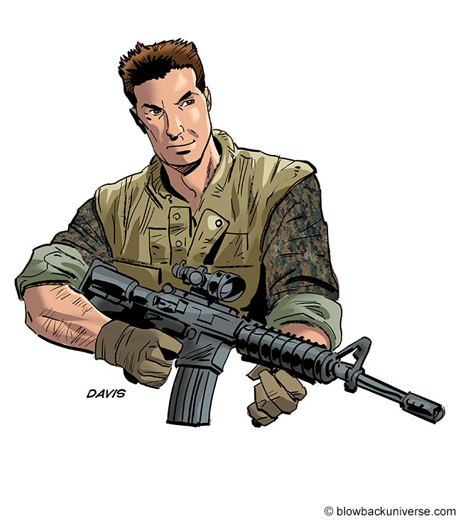 Sergeant Charlie Davis, U.S.M.C.