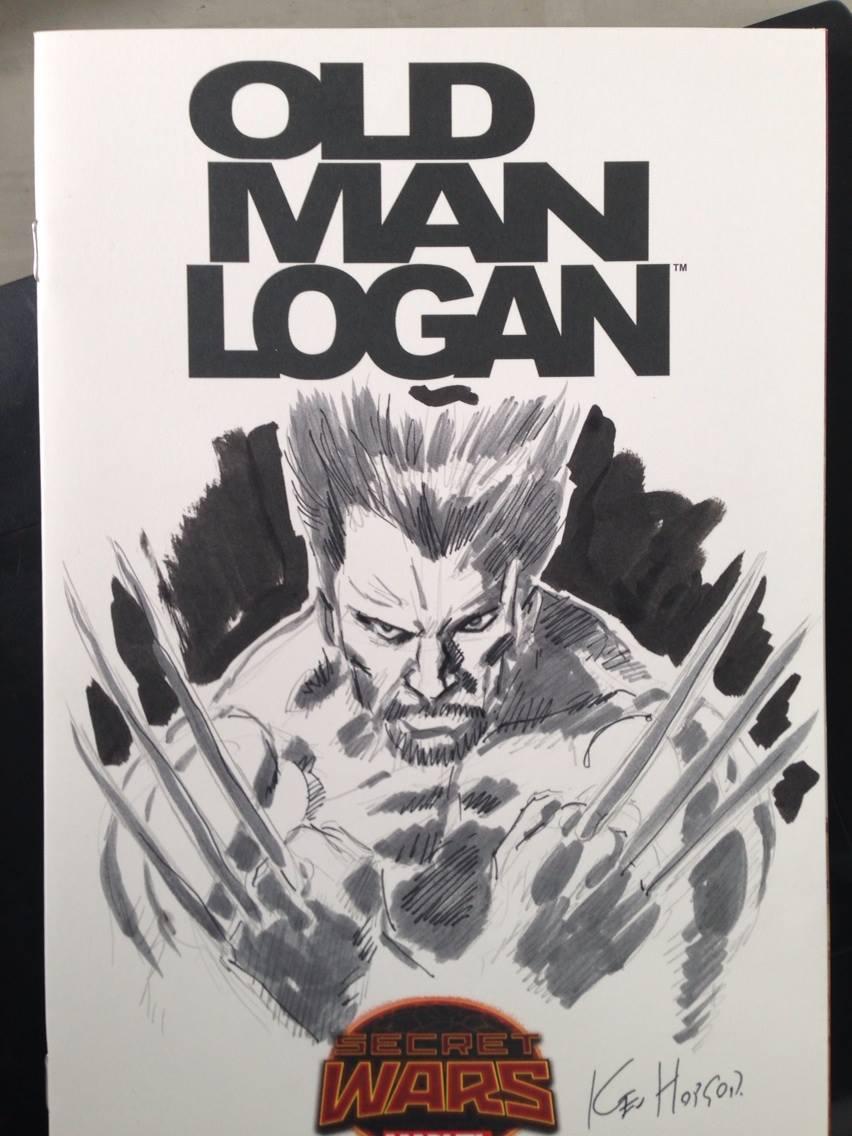 Wolverine by Kev Hopgood