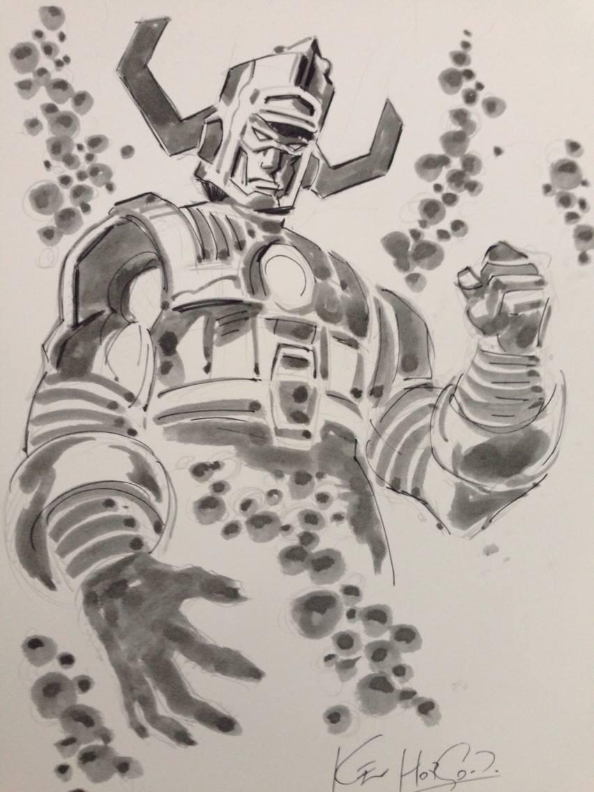 Galactus by Kev Hopgood